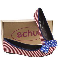 Cute little patriotic shoes!