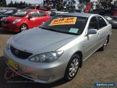 2005 Toyota Camry ACV36R Upgrade Altise Silver Automatic 4sp A Sedan #toyota #camry #forsale #australia