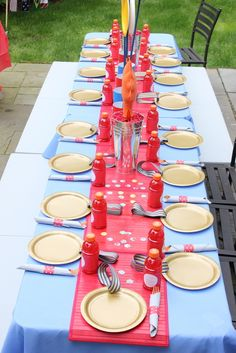 Olympic Party Table
