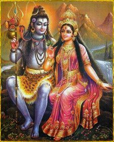 the destroyer and Parvati (Durga), the divine mother of all goddesses. She is the consort and 'other half' of Shiva. Parvati is known as the goddess of power and the daughter of the Himalayas. Shiva Shakti, Shiva Parvati Images, Saraswati Goddess, Durga Maa, Krishna Images, Tantra, Shiva Lord Wallpapers, Lord Shiva Family, Lord Shiva Painting