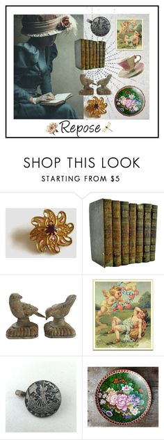 """Repose"" by seasidecollectibles ❤ liked on Polyvore"