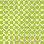 Kitchen stoop curtain?  Metro Living Circles Chartreuse