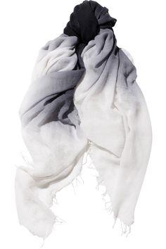 Chan Luu | Ombré cashmere and silk-blend scarf | NET-A-PORTER.COM
