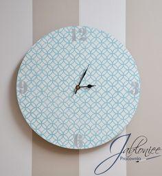 Zegar Maroko w Pracownia Jabloniee na DaWanda.com, clock, hand made, decoupage
