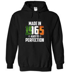 (New Tshirt Design) Made in 1965 Age to Pergection irish v2 [Tshirt design] Hoodies, Tee Shirts