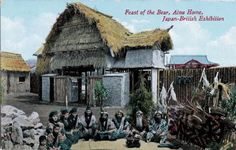 Feast of the Bear: Ainu Home, Japan-British Exhibition of 1910