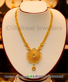 Beautiful gold necklace