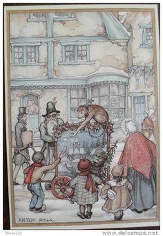 Anton Pieck - Home Design Anton Pieck, Lisbeth Zwerger, Dutch Painters, Realistic Paintings, Dutch Artists, Children's Book Illustration, Illustrators, Fairy Tales, Concept Art