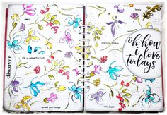 macarena-creativa: I Love Todays - Art Journal
