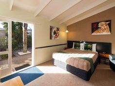 The 10 Best Eco-Friendly Hotels and Stays in Rotorua, New Zealand Rotorua New Zealand, Serviced Apartments, Studio Apartment, Eco Friendly, The Originals, Bed, Furniture, Mineral, Pools
