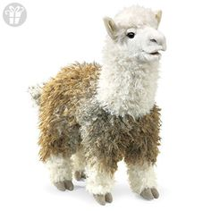 Folkmanis Alpaca Hand Puppet (*Amazon Partner-Link)