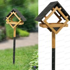 Bird House Plans 655907133210248933 - Source by Bird Feeder Poles, Wood Bird Feeder, Bird House Feeder, Bird Feeders, Wooden Bird Houses, Bird Houses Diy, Garden Projects, Wood Projects, Bird Tables