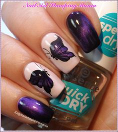 """Nail Art Stamping Mania: Magnetic Stamping Decals and Cici&Sisi """"Spring 03 and 04"""" Plates - Review and Tutorial"""
