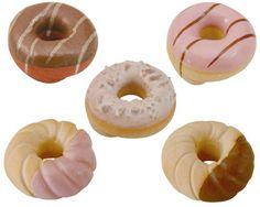Mino Yaki Donuts Chopstick Rest 5pcs (Handcrafted)