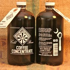 Best stuff....you want this!  Loveland Coffee Concentrate // @Leslie Lippi Riemen Loveland Coffee