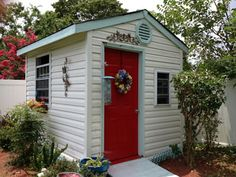 Little Garden Shed Makeover Need to makeover our shed in the backyard!