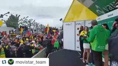 Así celebraron los colombianos el triunfo de @nairoquincoficial el #TDR2016 #orgullocolombiano #Colombia #ciclismo #Nairo  #Repost @movistar_team ・・・ BESTIALES los colombianos para festejar con @nairoquincoficial en Ginebra  #TDR2016