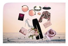 """""""Boho chic vintage"""" by aiesha1125 on Polyvore featuring Chan Luu, Jill Stuart, T By Alexander Wang, Maison Michel, Adolfo Courrier, Jimmy Choo, Matthew Williamson, WALL and vintage"""