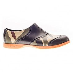 66654399fce Biion Oxford Pattern Unisex Golf Shoes Camo Mens 11   You can get  additional details at