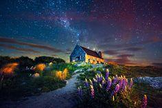 Las Mejores Fotografías del Mundo: Sorprendente Fotografía de Paisaje de Nueva Zelanda