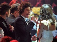 You excited Harry? Why does that look like Taylor swift? #directionerproblems