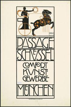 HOHLWEIN Ludwig, 1874-1949 (Germany) Title : Passage Schuessel München Comfort Kunst-Gewerbe 1914