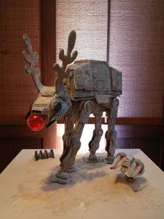 Star Wars Gingerbread House | Star Wars themed gingerbread house !!!!