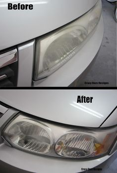 DIY Headlight Cleaner - Clean rag, cheap regular toothpaste and water to rinse with. Apply toothpaste with a dry rag, and rub in a circular motion until grime starts to come off. Repeat if necessary. Clean Foggy Headlights, Cleaning Headlights On Car, Car Headlights, Car Cleaning, Diy Cleaning Products, Cleaning Hacks, Cleaning Service, Headlight Restoration, Car Fix