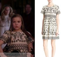Nashville: Season 4 Episode 17 Daphne White Embroidered Dress