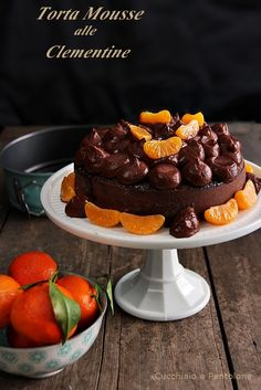 torta mousse alle clementine