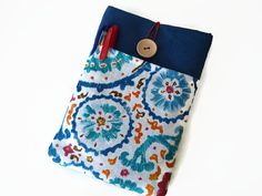 iPad Pro  9.7 sleeve Floral / iPad Air 2 Cover  / by Driworks