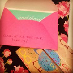 Receiving snail mail creates happiness! #Happy #Motivation #SnailMail
