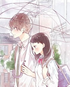 Art Anime, Chica Anime Manga, Anime Art Girl, Kawaii Anime, Manga Couple, Anime Love Couple, Anime Couples Drawings, Anime Couples Manga, Cute Anime Coupes