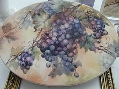 Grapes | ARTchat - Porcelain Art Plus (formerly Chatty Teachers & Artists)
