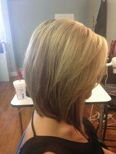 Medium Stacked Haircuts
