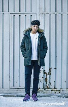 Jungkook- BTS Puma Photoshoot