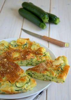 Torta di Zucchine Light facile e veloce da preparare. #ricetta #recipe #food #foodblog #zucchine