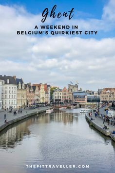 There are so many unieuq things to do in Ghent Belgium for a weekend. The university city is as beautiful as it is quirky. This is our full Ghent guide. Belgium Hotels, Visit Belgium, Ghent Belgium, Travel Belgium, Vietnam Travel, Thailand Travel, Weekend Trips, Day Trips, Best Boutique Hotels