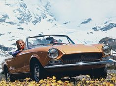 Fiat 124 Spider (1969) Maintenance/restoration of old/vintage vehicles: the material for new cogs/casters/gears/pads could be cast polyamide which I (Cast polyamide) can produce. My contact: tatjana.alic@windowslive.com