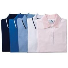 Genuine BMW Ladies' Tipped Polo - PINK - Size Medium by BMW. $44.50. The BMW Tipped Polo has contrast tipping at collar, cuffs and placket. 95% cotton, 5% Lycra®. Import. Note- PINK Polo only. All other colors sold separately.