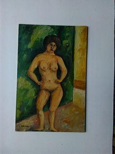 Olio Nudo Femminile