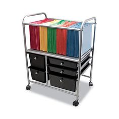 File Carts – Ultimate Office Pull Out Drawers, Storage Drawers, Storage Spaces, Drawer Cart, Drawer Pulls, Craft Storage Cart, Printer Stand, Plastic Drawers, Office Furniture Stores