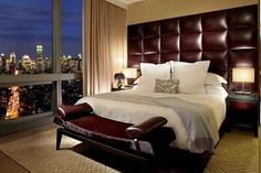 My Trump Soho Hotel Room (master suite) New York Hotels, Nyc Hotels, Decoration Bedroom, Celebrity Houses, Luxurious Bedrooms, Luxury Bedrooms, Hotel Bedrooms, Amazing Bedrooms, Bedroom Suites