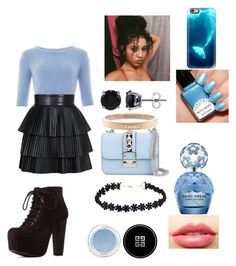 """""""Untitled #59"""" by cannonsamiya on Polyvore featuring Balmain, Valentino, Charlotte Russe, Chanel, BERRICLE, Givenchy, LASplash, Marc Jacobs, Casetify and women's clothing"""