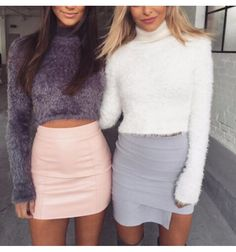 downy, sweater, long, sleeve, top