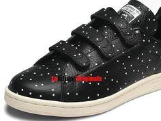 Adidas Originals Stan Smith CF W - Chaussure Pas Cher Pour Homme/Femme Blanc/Noir BB5146-Boutique Adidas Originals de Running (FR) - LaAdidasOriginals.fr