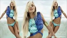Agua de Coco 2013 Photo Shoot with Candice Swanepoel