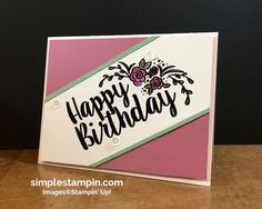 You know that I am a HUGE fan of BIG Sentiments….and this stamp set is one that will not leave me disappointed! I knew that when I first saw it…it would have a home on Randall Lane! Just look at all of the fun projects you could use this amazing set with. The fonts …