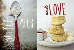 spread layout in Fresh magazine...just reminds me of my Mamaw, who made the best biscuits ever