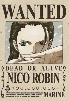 Wanted Nico Robin